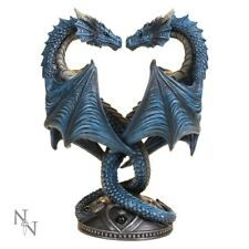 Anne Stokes Dragon Heart Candle Holder Figurine 23cm