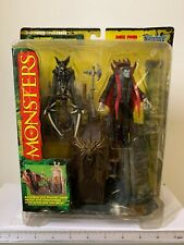 McFarlane Toys Monsters Series 1 Dracula Playset 4 Inches Yellow background