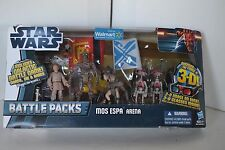 STAR WARS Battle Packs Mos Espa Action Figure 2011 3-d MIB