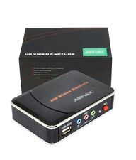 AGPtek HD Game Capture Card HD Video Capture 1080P HDMI/YPBPR Video Recorder