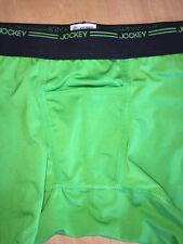 Vtg Jockey Pouch - 2nd Skin - Green Stretch - Men's Sexy Boxer Brief - M (32-34)