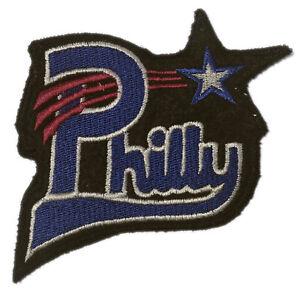 "PHILADELPHIA STARS NEGRO LEAGUE BASEBALL 3.75"" BLACK FELT TEAM PATCH"