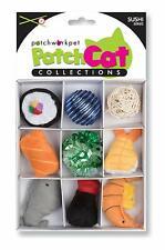 New listing New! Sushi Fish Box Cat Toy 9pc Set Premium Catnip