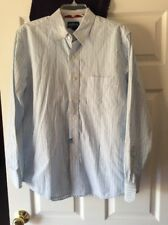 Mens Aeropostale Long Sleeve Button Down Slim Fit Shirt Size Medium See Photos!