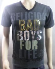 New with Tags - Mens Religion Bad Boys for Life Logo T-shirt Top - Size Medium