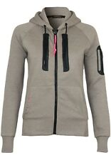 Geographical Norway Fabricot Lady Felpa Donna Marrone e (taupe) Medium (g2x)