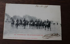 CPA Militaire Cavalerie Saumur  les écuyers équitation 1909