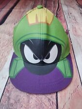 Looney Tunes Marvin The Martian Snapback Hat Excellent Shape