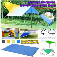 Littleduckling Camping Sun Shelter Waterproof Tent Beach Blanket Mat Awning Canopy Tarp Camping Sunshelter