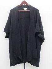 Liz Lange Shawl Sweater W/ Dolman SLeeves - Small - Black