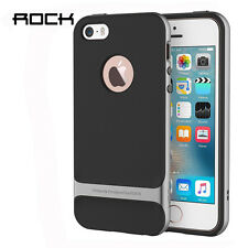 ROCK Phone Cover Ultraslim Shockproof  Case For Apple iphone 5/5s/se-Iron Gray
