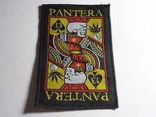 PANTERA WOVEN PATCH