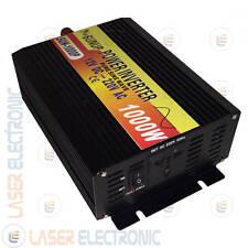 Power Inverter Professionale ad Onda Sinusoidale Pura 12V to 230V 1000W Watt