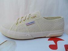 Superga 2750 Crochetw Chaussures Femmes 40 Sneakers Tennis Ballerines UK6.5 Neuf