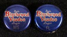 DIXIE VOODOO FLORIDA+MS TAX PLASTIC BEER BOTTLE CAP NEW ORLEANS LOUISIANA CROWNS