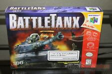 BattleTanx (Nintendo 64, N64 1998) FACTORY SEALED! - VERY RARE!