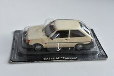 "ZAZ 1102 ""Tavria"" Legendary USSR car. DeAgostini scale model 1/43"