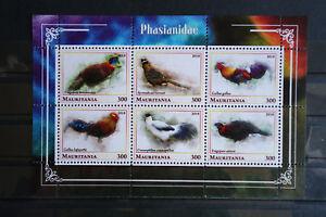 Vögel 027 birds oiseaux Fasane Tiere animals Fauna postfrisch ** MNH