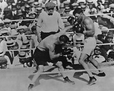 Heavyweight Championship JACK DEMPSEY vs TOMMY GIBBONS Glossy 8x10 Photo Poster