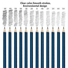 32 Pcs Dessin Croquis Set Fusain Crayon Artisanat Peinture Esquisse Multicolore