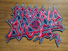 MORBID ANGEL,SEW ON EMBROIDERED LARGE BACK PATCH