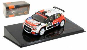 IXO RAM747 Citroen C3 R5 #27 Monte Carlo Rally 2020 - Eric Camilli 1/43 Scale