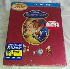 New Disney Beauty & the Beast Blu-ray Ironpak (like Steelbook™) Futureshop CA