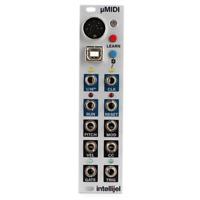Intellijel uMIDI Voice and Clock MIDI to CV Interface Eurorack Module
