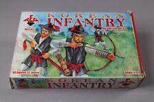 ZC238 Red Box RB 72012 Figurine Soldats 1/72 Korea Infantry XVI-XVII Century AD