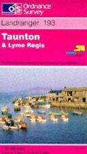 Landranger Maps: Sheet 193: Taunton and Lyme Regis by Ordnance Survey (Sheet...