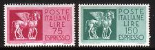W293 ITALIA 1958 Espressi 75 e 150 lire  MNH**