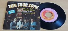 "FOUR TOPS - REACH OUT I'LL BE THERE - 45 GIRI 7"" - ITALY PRESS"