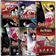 InuYasha Complete Series Anime Seasons 1-7 + Bonus Movies Box / DVD Set(s) NEW!