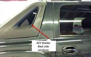 Avy Shades/Sail Panels, Great Substitute for Snug tops (SOLD AS PAIR)