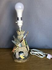 Marjolein Bastin Hallmark Desk Table Lamp Artists Bird House Natures Sketchbook