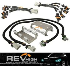 LS1 LSX Coil Pack Relocation Bracket Kit Stainless Steel Extension Harness Holde