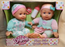 GIGO Dream Collection Happy Twins Baby Dolls 16209 ~ NEW/SEALED