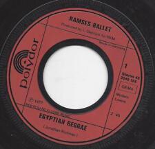 RAMSES BALLET : EGYPTIAN REGGAE  +  RAMSES THEME  Vinyl Single 1970