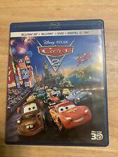Cars 2 (Blu-ray/DVD, 2011, 5-Disc Set,3D)Authentic Disney 3D