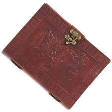 Handmade Medieval Centaur's Love Story Leather Writing Journal Diary
