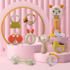 New ListingBaby Newborn Rattles Teether Toys Infant Shaking Bell Rattle Grab Set Bpa Free