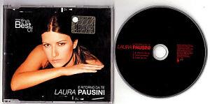 LAURA PAUSINI. E RITORNO DA TE CD Singolo Germany