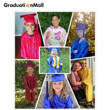 GraduationMall Children Preschool Graduation Gown Cap Set Kindergarte 12 Colors