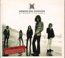 """HEROES DEL SILENCIO - CD + DVD """" EL RUIDO Y LA FURIA """""""