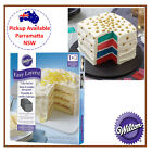 WILTON EASY 4 LAYER SQUARE CAKE PAN BIRTHDAY BAKING DECORATING TIN PACK SET