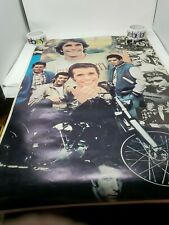 VINTAGE THE FONZ HAPPY DAYS POSTER TV HENRY WINKLER FONZIE RON HOWARD