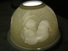 Lumière magique, photophore DOME Lights Starlight Photophore Bonhomme de neige