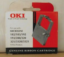 Original Oki  09002303  Farbband black Microline 182 183 280 320 321 3320 3321