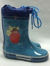 Barbapapa Boys Youth/Toddler 9 Rainboots Blue Barbawum Europe 25