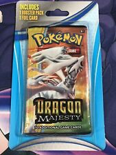 New ListingDragon Majesty Factory Sealed Booster Pack Pokemon Tcg Reshiram Art